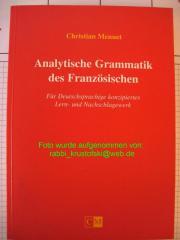 Christian Menuet: Analytische