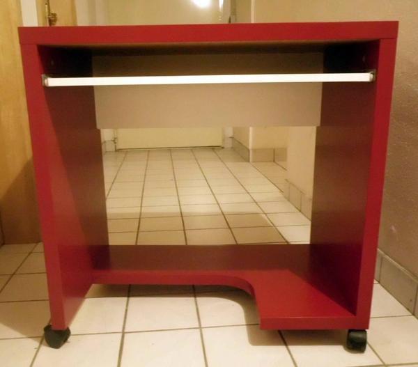 Computertisch rollen neu und gebraucht kaufen bei for Schwarzer computertisch