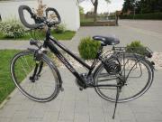 Damenrad schwarz, 21