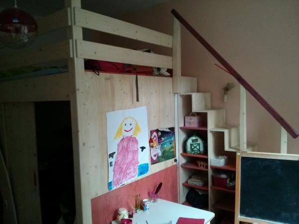 das coolste hochbett der welt vom schreinermeister f r 2 90 3 20m kleinanzeigen aus darmstadt. Black Bedroom Furniture Sets. Home Design Ideas