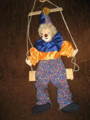 Deko - Clown, Clownpuppe