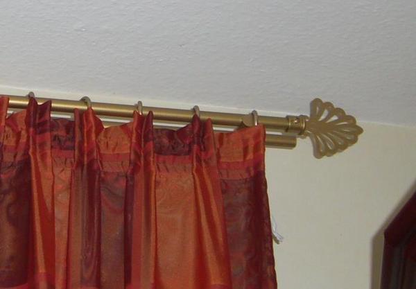 deko gardinen sehr edel mit stangen und ringen in l chgau gardinen jalousien kaufen und. Black Bedroom Furniture Sets. Home Design Ideas