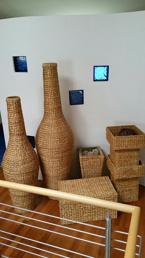 deko vasen und pflanzenk bel wasserhyazinte in. Black Bedroom Furniture Sets. Home Design Ideas