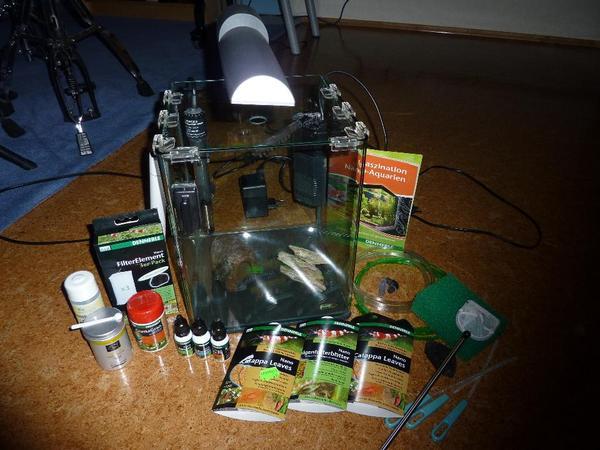 dennerle nano cube 20l aquarium in ubstadt weiher fische aquaristik kaufen und verkaufen ber. Black Bedroom Furniture Sets. Home Design Ideas