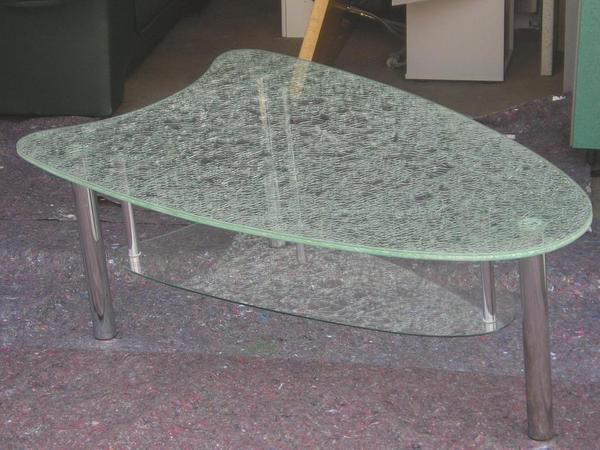 Glastische neu und gebraucht kaufen bei for Wohnzimmertisch crashglas