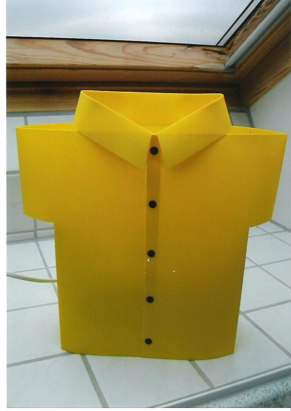 designer lampe gelbes hemd in speyer designerm bel klassiker kaufen und verkaufen ber. Black Bedroom Furniture Sets. Home Design Ideas