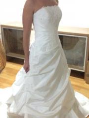 dominic Brautkleid weiß