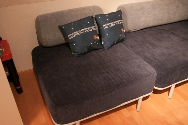 dr mminge sofa schlafcouch sitzgarnitur kombinierbar farbe blau kleinanzeigen aus wannweil. Black Bedroom Furniture Sets. Home Design Ideas
