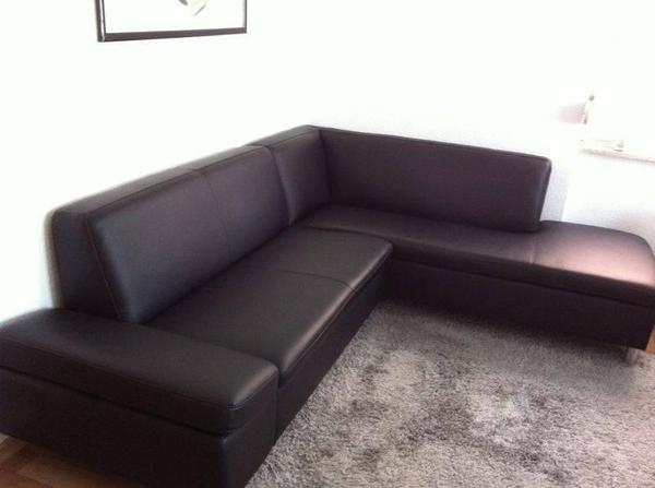echtleder couch von segm ller zum top preis in darmstadt polster sessel couch kaufen und. Black Bedroom Furniture Sets. Home Design Ideas