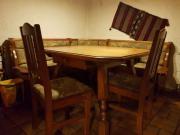 Eckbank,2 Stühle
