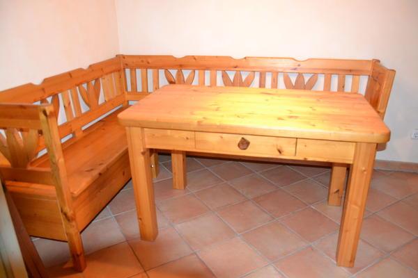 Eckbank Holz Zu Verschenken ~ Eckbank+ Tisch Massiv