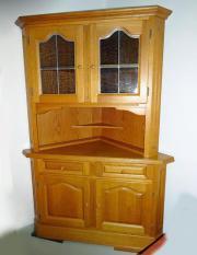 eckvitrine eckschrank haushalt m bel gebraucht und neu kaufen. Black Bedroom Furniture Sets. Home Design Ideas