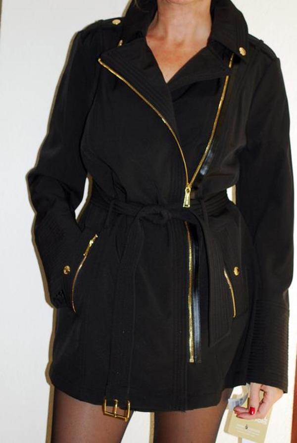edler jacke trenchcoat mantel von michael kors original in heusenstamm damenbekleidung kaufen. Black Bedroom Furniture Sets. Home Design Ideas