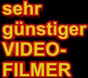 Ein Videofilmer denn
