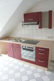 Einbauküche mit Ceranfeld