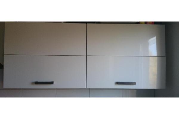 k chenzeilen anbauk chen einbauk che nobilia 453 primo wei hochglanz. Black Bedroom Furniture Sets. Home Design Ideas