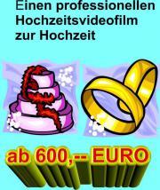 EINEN PROFI-HOCHZEITSVIDEOFILM