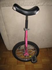 Einrad rosa, 40cm,