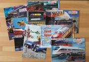 Eisenbahn Prospekte / Kataloge