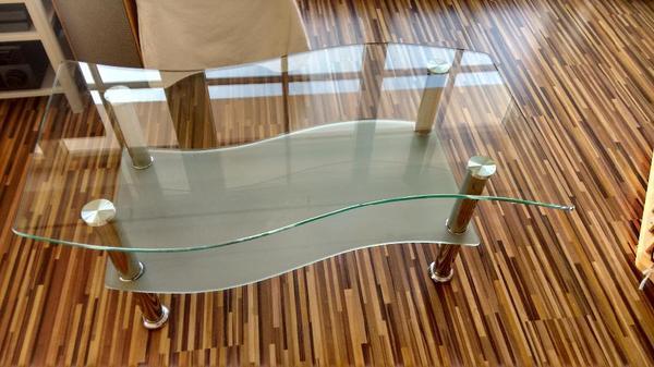 glastisch alt neu und gebraucht kaufen bei. Black Bedroom Furniture Sets. Home Design Ideas