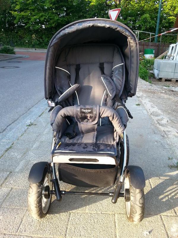emmaljunga kinderwagen stroller sehr gut erhalten und. Black Bedroom Furniture Sets. Home Design Ideas