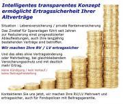Ertragssicher / Mehrwert / Lebensversicherung