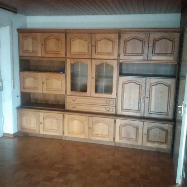 Zum selbstabbau kaufen gebraucht und g nstig - Wohnzimmerschrank eiche rustikal ...