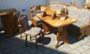 Essecke Sitzbank Garnitur