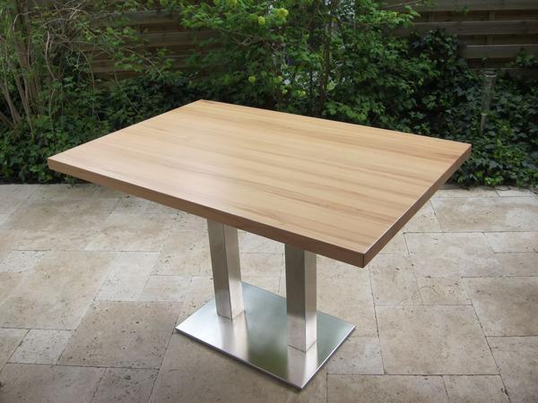 Design Tisch Holz Metall ~ Design Tisch Holz Buche Metall Drei Verschiedene  Yategocom Pictures