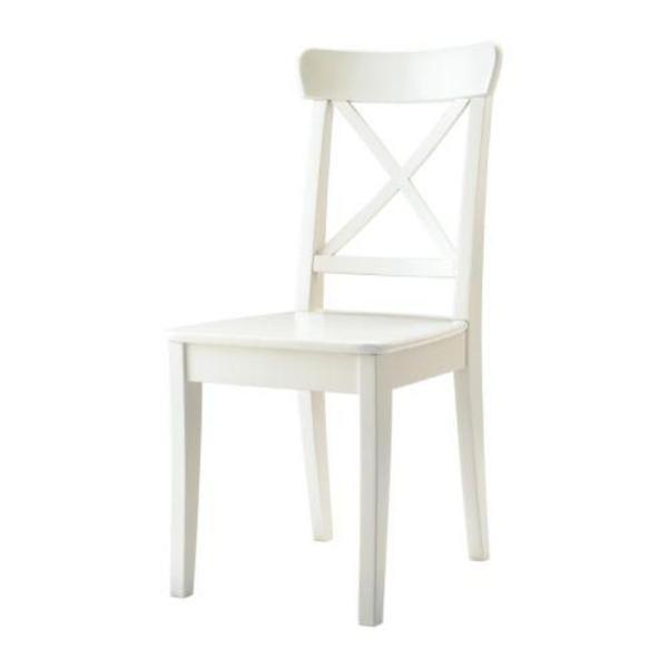 Ikea Occasional Table Over Bed ~ Verkaufe von IKEA einen runden Esstisch INGATORP mit 4 INGOLF Stühlen