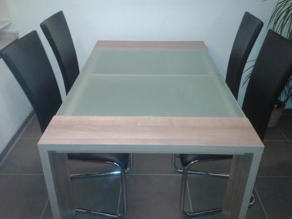milchglas tisch neu und gebraucht kaufen bei. Black Bedroom Furniture Sets. Home Design Ideas