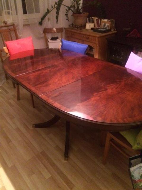 ovaler esstisch neu und gebraucht kaufen bei. Black Bedroom Furniture Sets. Home Design Ideas