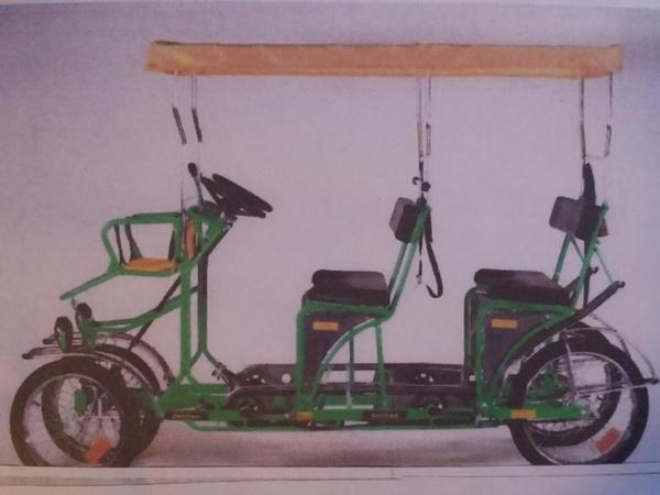 fahrrad f r 4 6 personen in rottenburg sonstige. Black Bedroom Furniture Sets. Home Design Ideas