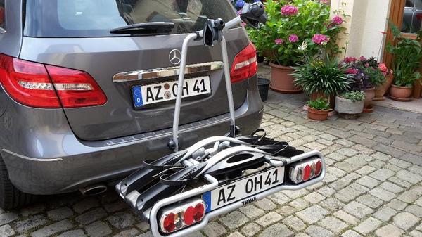fahrradhecktr ger thule euroway 944 in w rrstadt fahrrad. Black Bedroom Furniture Sets. Home Design Ideas