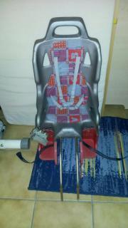 Fahrradsitz + Adapter