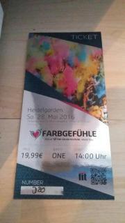 Farbgefühl Tickets Heidelberg