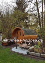 Fass Sauna, Gartensauna,