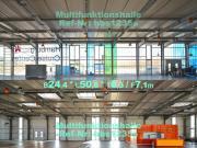 Feuerverzinkte Stahlhalle 24x50x7m