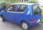 Fiat Seicento, blau,