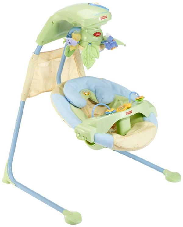 fisher price babyschaukel kaufen gebraucht und g nstig. Black Bedroom Furniture Sets. Home Design Ideas