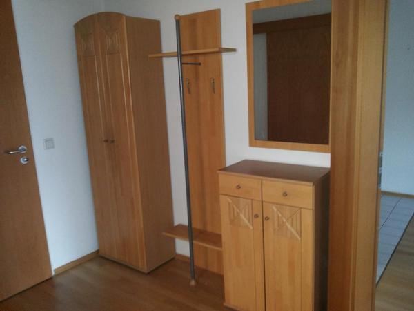 garderoben set naganol in hochglanz wei 5 teilig pictures to pin on pinterest. Black Bedroom Furniture Sets. Home Design Ideas