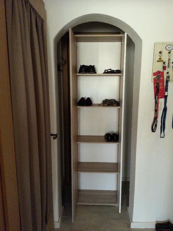 Garderobenschrank in renningen garderobe flur keller for Garderobe quoka