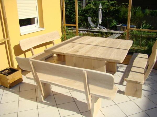 gartenm bel aus massivholz eiche in holten kaufen und. Black Bedroom Furniture Sets. Home Design Ideas