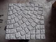 Gehwegplatten mit Muster