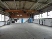 Gewerbehalle mit Krananlage