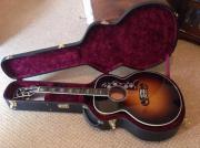 Gibson SJ200 Brugerdefineret Guitar Dette er min guitar Gibson Brugerdefineret SJ200. Det er i meget god stand komplet med plys foret hardback tilf lde. Det har stor tone og fremragende ... 2.200,- D-83435Bad Reichenhall Heute, 18:16 Uhr, Bad Reichenhall - Gibson SJ200 Brugerdefineret Guitar Dette er min guitar Gibson Brugerdefineret SJ200. Det er i meget god stand komplet med plys foret hardback tilf lde. Det har stor tone og fremragende