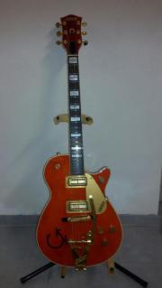 Gitarre: Gretsch Round