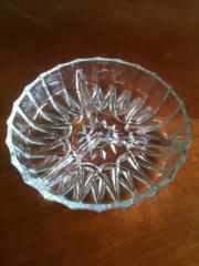Glasschale,Kristallschale,Knabberschale