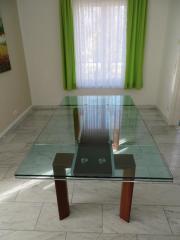 Glastisch 2 fach