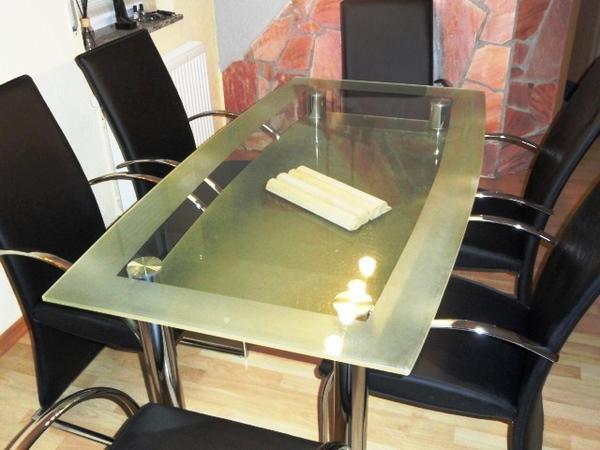 glastisch guter neu und gebraucht kaufen bei. Black Bedroom Furniture Sets. Home Design Ideas